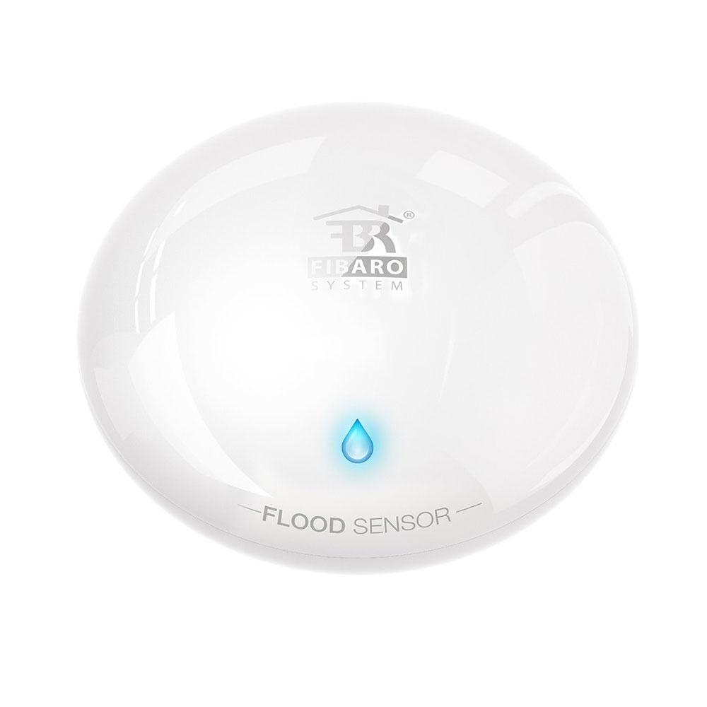 Senzor de inundatie smart home fibaro fgfs-101, Z-Wave, 50m, 868.4 MHz imagine spy-shop.ro 2021