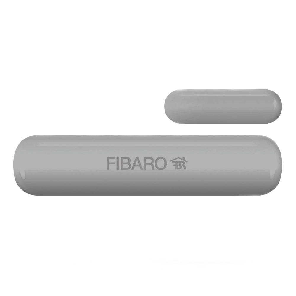 Senzor de usa/geam gri FIBARO fgk-102, Z-Wave, 30m, 868.4 MHz