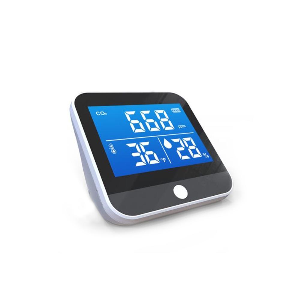 Senzor pentru detectarea calitatii aerului ZKTeco AQD-H35, CO2, PM2.5, temperatura, umiditate, plug and play