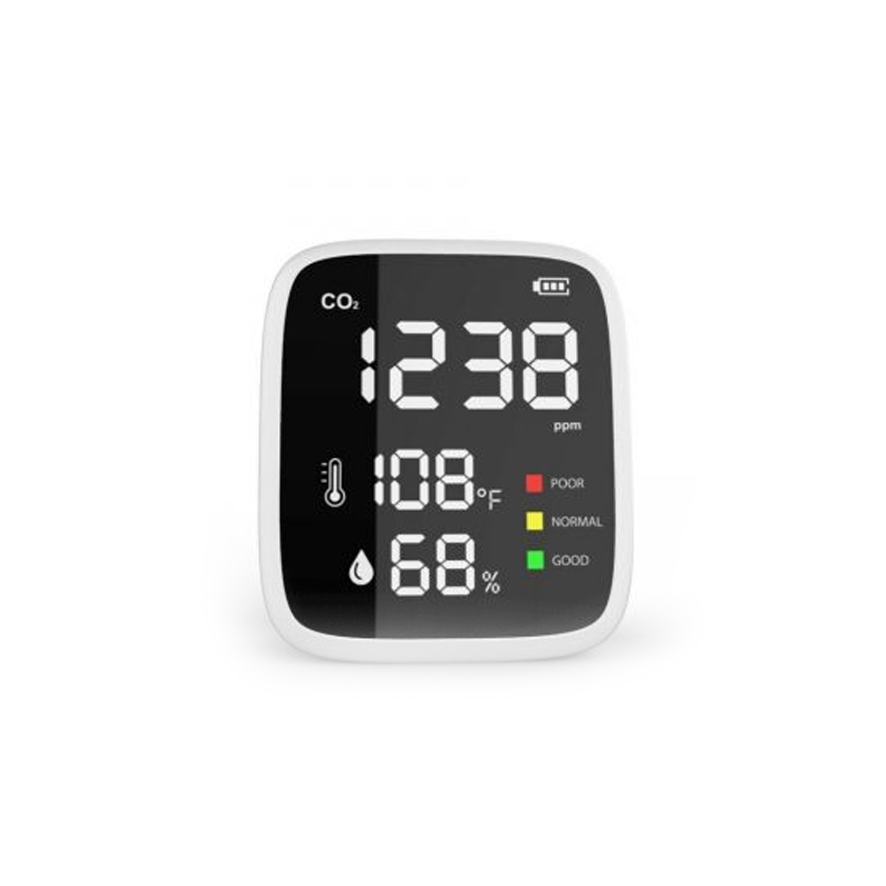 Senzor pentru detectarea calitatii aerului ZKTeco AQD-MINI, CO2, plug and play