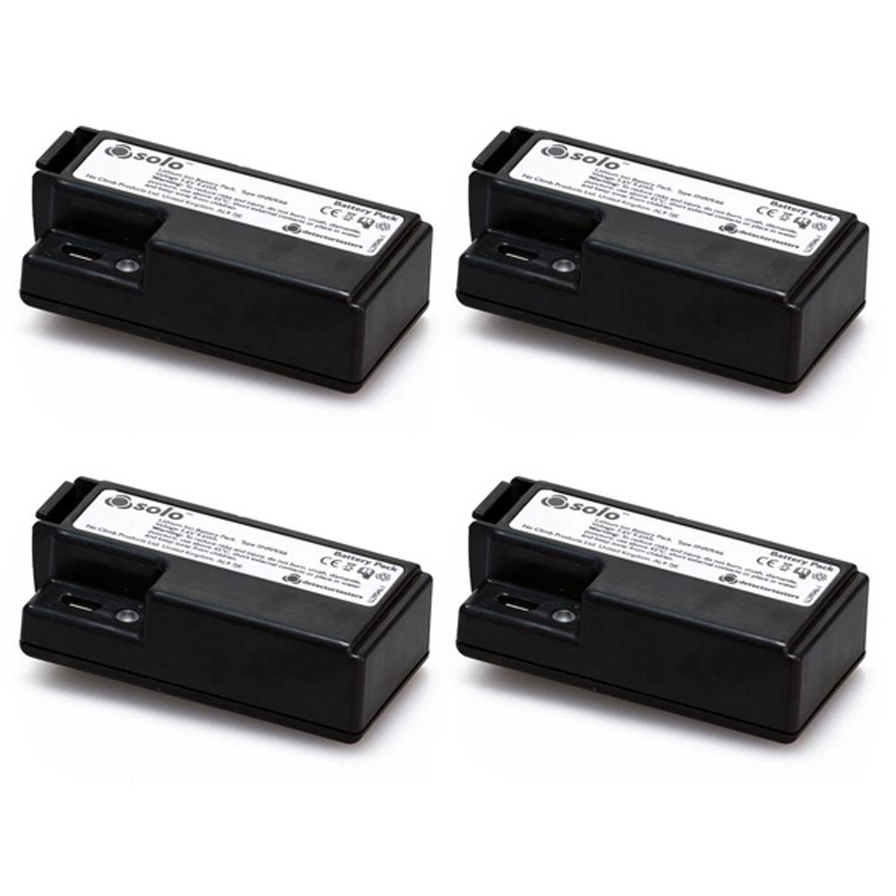 Set 4 baterii reincarcabile pentru tester detectori de fum SOLO 370 - 4PACK-001 imagine spy-shop.ro 2021