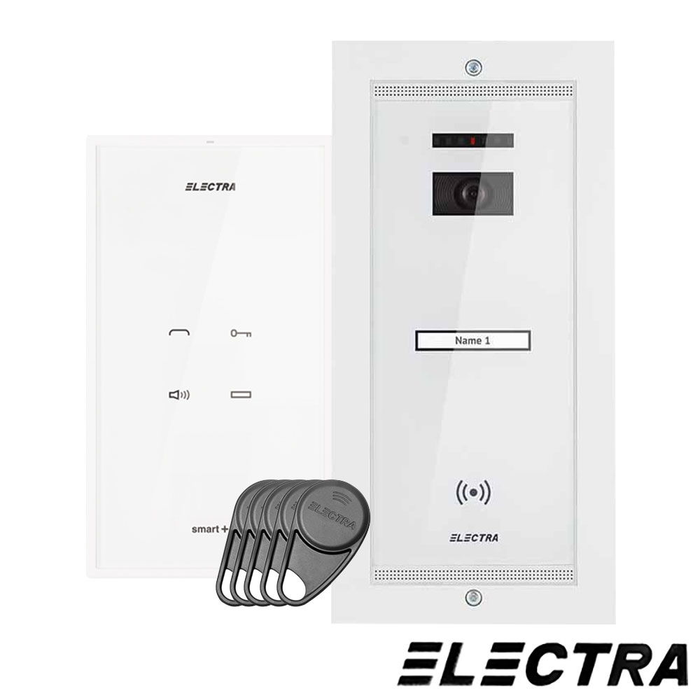 SET INTERFON 1 FAMILIE TOUCH LINE SMART+ ELECTRA AKM.P1FR.T0S4.ELW