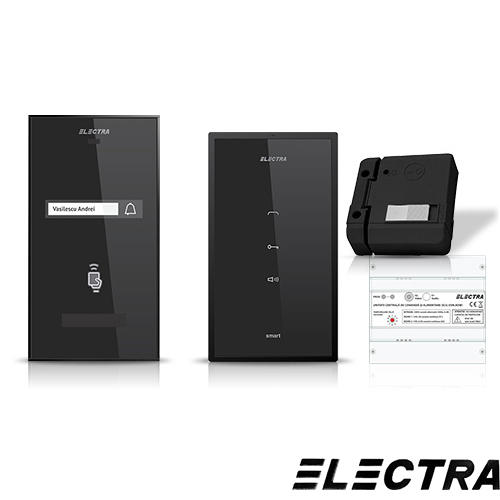 Set intefon Electra Smart INT-ELEC-02, 1 familie