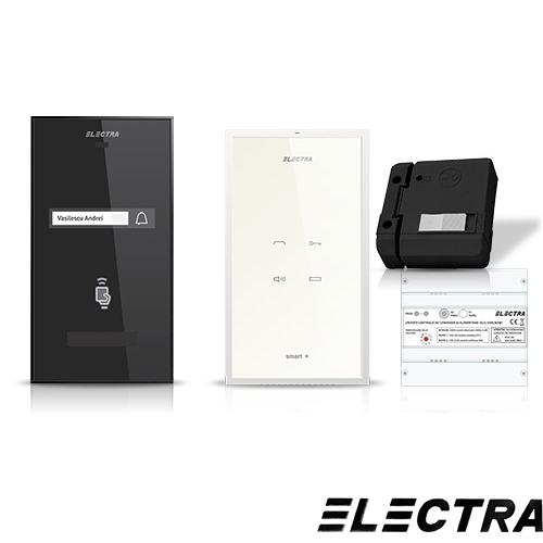 Set interfon Electra Smart INT-ELEC-14, 1 familie