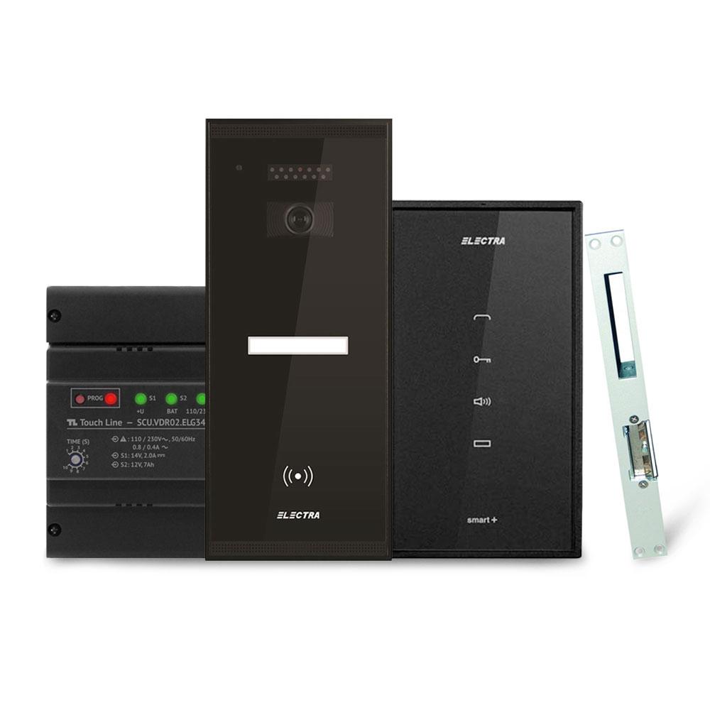Set interfon Electra Smart INT-ELEC-15, 1 familie, RFID, 230 V imagine spy-shop.ro 2021