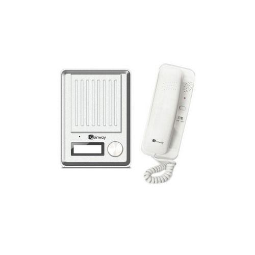 Set interfon audio Genway DS2H4, 1 familie, aparent, metal
