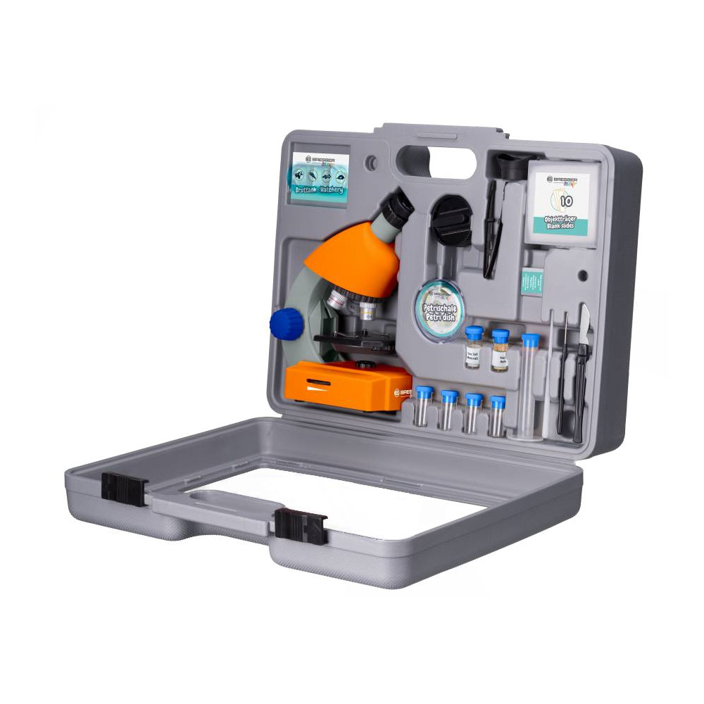 Set microscop optic Bresser Junior 40-640x 8851310