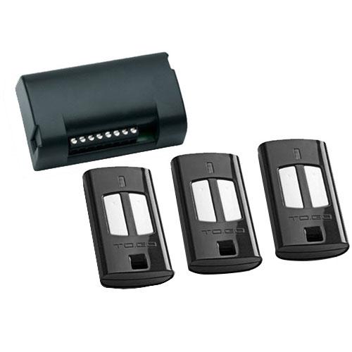 Set receptor si 3 telecomenzi Beninca KIT ONE, 2 canale, 433 MHz imagine spy-shop.ro 2021