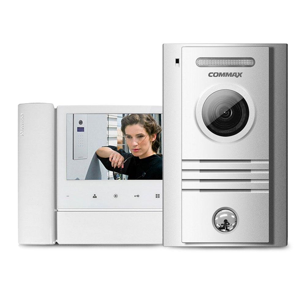Set videointerfon Commax COLOR FAM N, 1 familie, 7 inch, aparent imagine spy-shop.ro 2021
