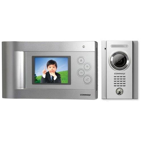 Set videointerfon Commax ECO SET H, 1 familie, 4 inch, aparent