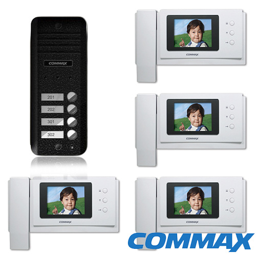 SET VIDEOINTERFON COMMAX KIT CN-4F