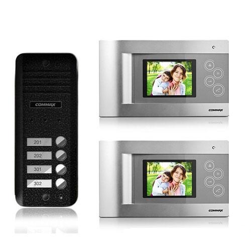 SET VIDEOINTERFON COMMAX KIT CQM-2F