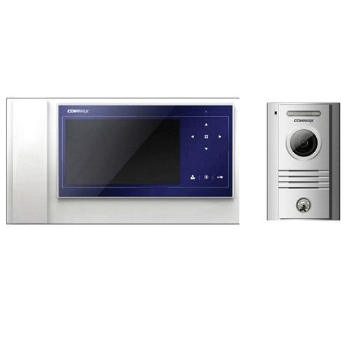 Set videointerfon Commax PRO SET PT, 1 familie, 7 inch, aparent imagine spy-shop.ro 2021