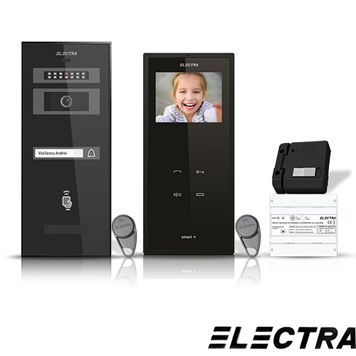 SET VIDEOINTERFON ELECTRA SMART VID-ELEC-02