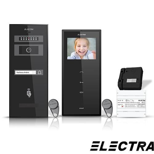SET VIDEOINTERFON ELECTRA SMART VID-ELEC-04