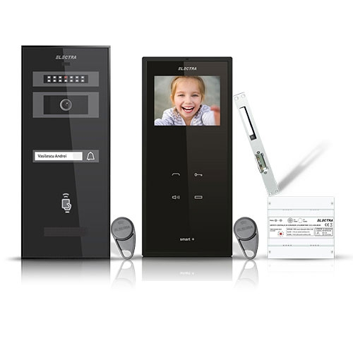 SET VIDEOINTERFON ELECTRA SMART VID-ELEC-05