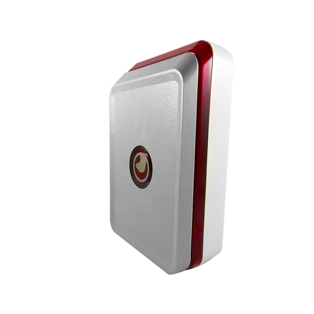 Sirena de exterior wireless cu flash Safe4u RO911102AS, 120 dB, 8xLED, 868 MHz