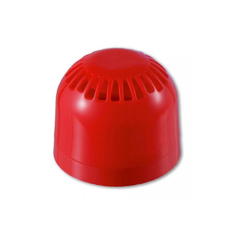 Sirena adresabila alimentata din bucla UTC Fire&Security AS2363, 17-28 VDC, rosu, 97 dB