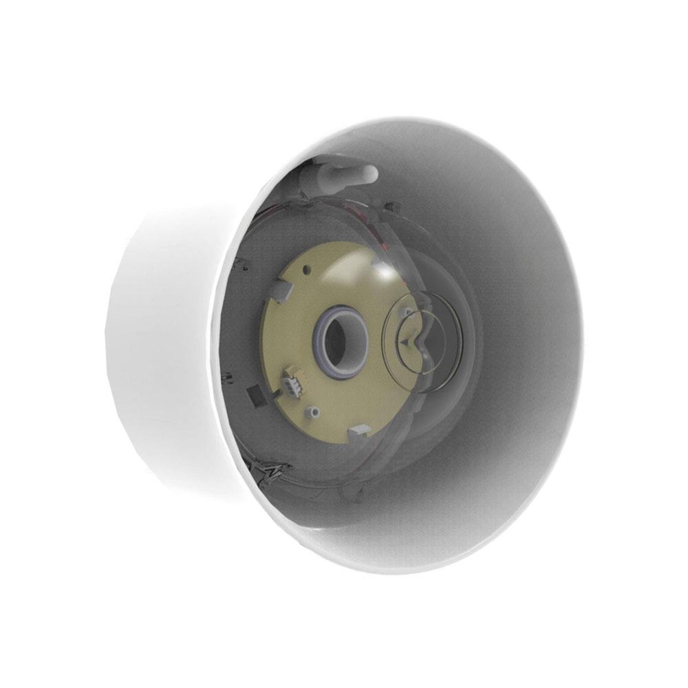 Sirena adresabila cu lampa de incendiu pentru perete Hochiki CHQ-WSB2(WHT)/WL, 51 tonuri, LED alb, carcasa PC ABS alb
