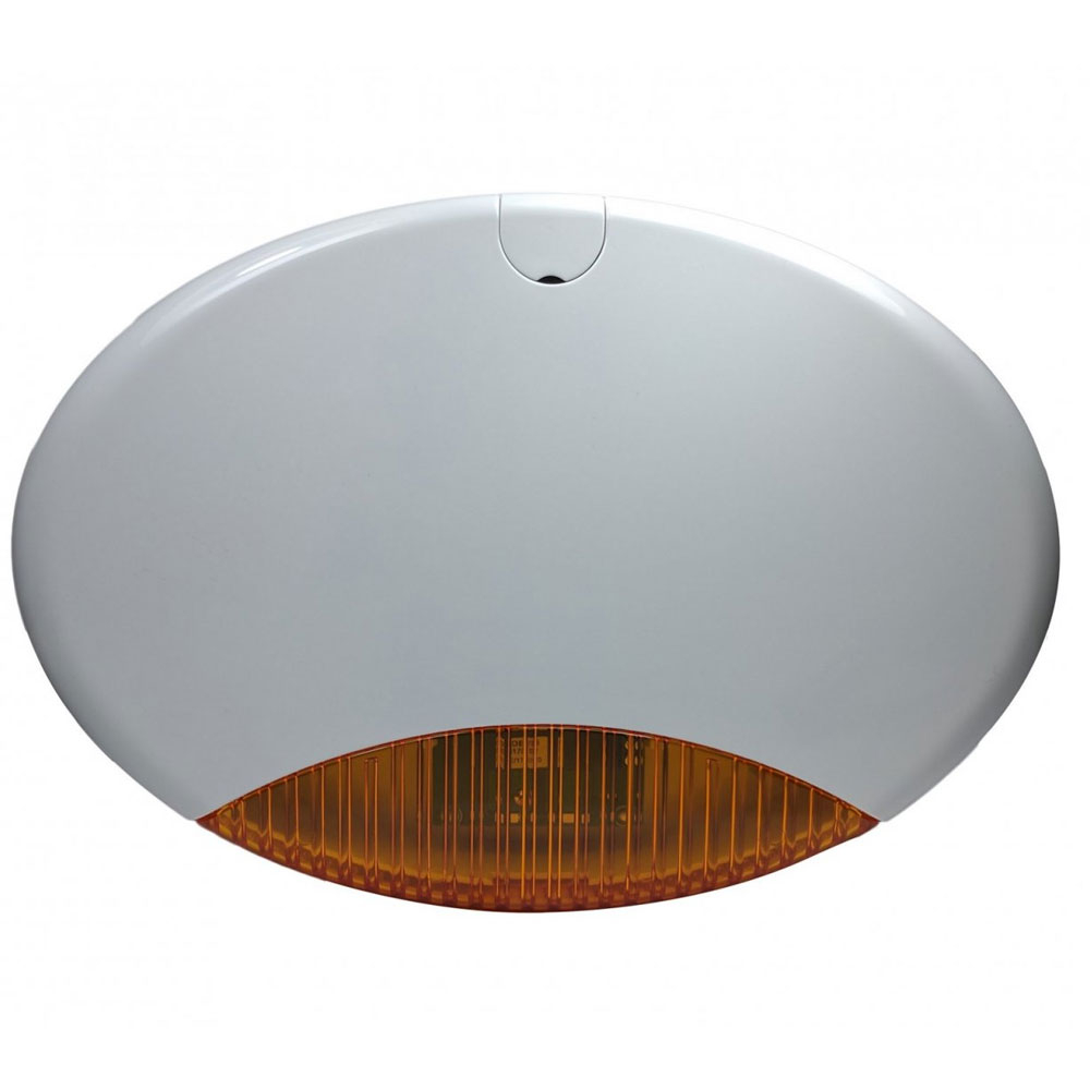 Sirena de exterior cu flash AMC ISIDE, 100 dB, tamper, IP54 imagine spy-shop.ro 2021