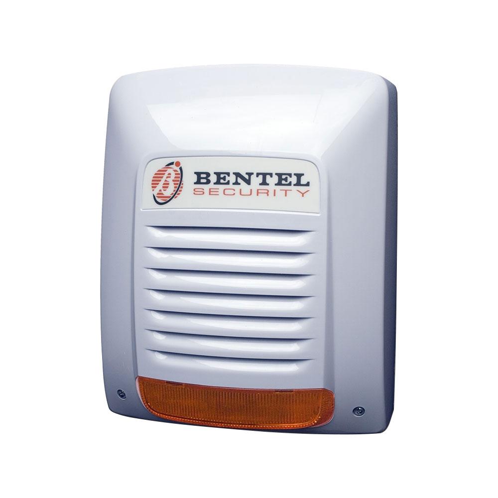 Sirena de exterior cu flash Bentel NEKA, 105 dB(A), tamper, IP34 imagine spy-shop.ro 2021