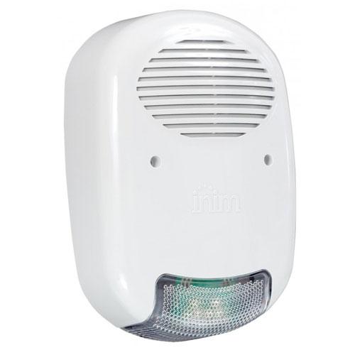 Sirena de exterior Inim Ivy-BF, anti spuma, 104 dbA, autoalimentare