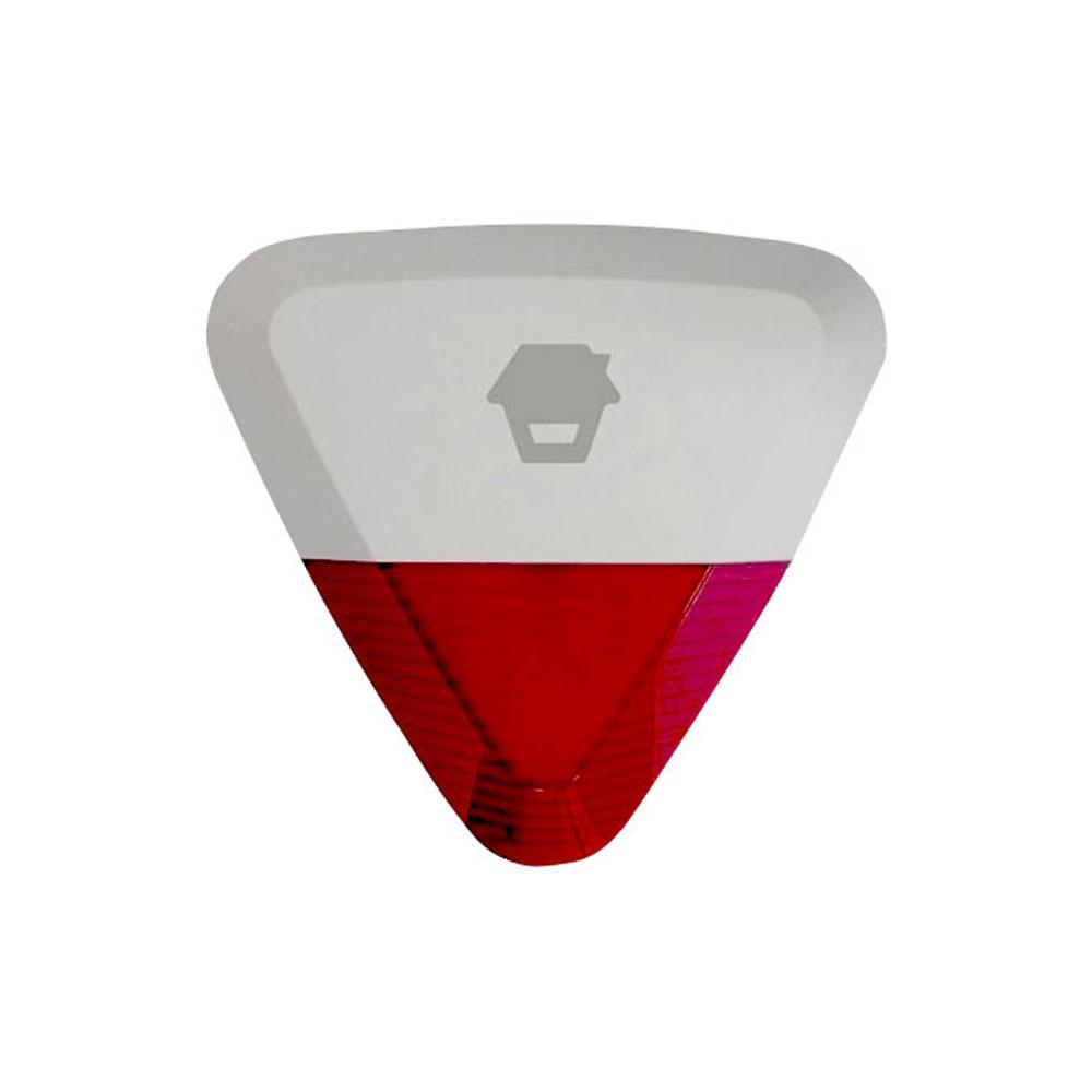 Sirena de exterior stroboscopica wireless Chuango WS-280, 105 dB, RF 80 m, IP54 imagine spy-shop.ro 2021