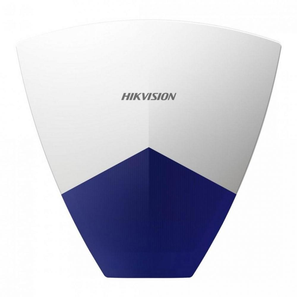 Sirena de exterior wireless cu flash Hikvision DS-PSG-WO-868, 110 dB, RF 800 m, IP65