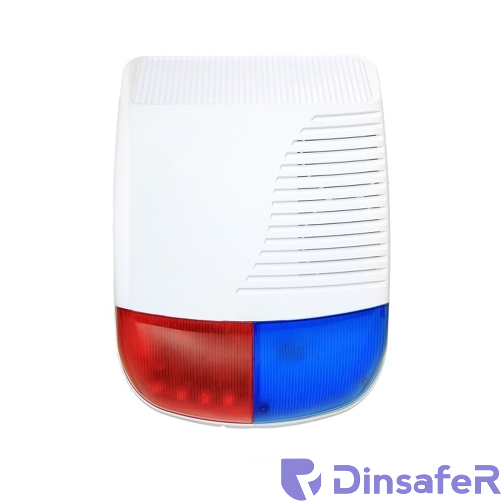 SIRENA DE EXTERIOR WIRELESS DINSAFER DJD01O