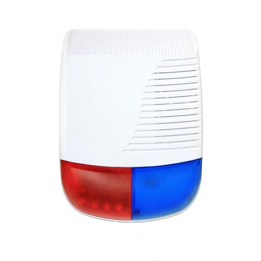 Sirena de exterior wireless DinsafeR DJD01O, 120 dB, 433.92 MHz, 200 m
