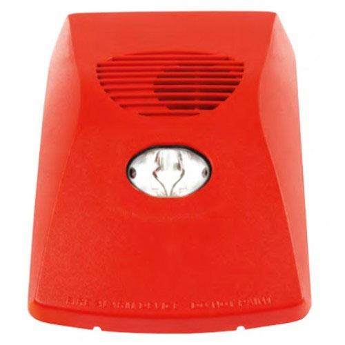 Sirena de incendiu adresabila cu flash FireClass FC440AIR, 100 dB, alimentare pe bucla, izolator