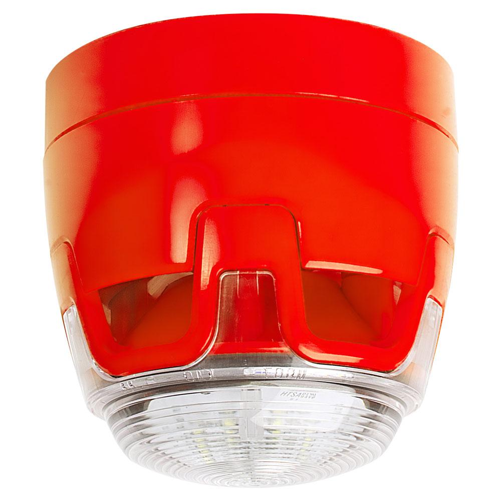 Sirena de incendiu conventionala cu flash KAC ENscape CWSS-RR-S5, 107 dB, 32 tonuri, IP21C imagine spy-shop.ro 2021