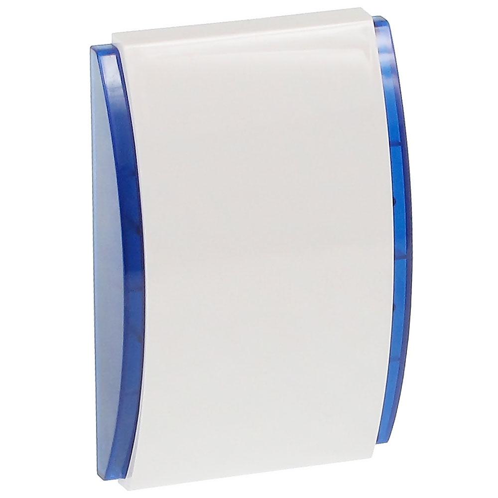 Sirena de interior cu LED Satel SPW-220 BL, 120 dB, 3 tonuri, albastru