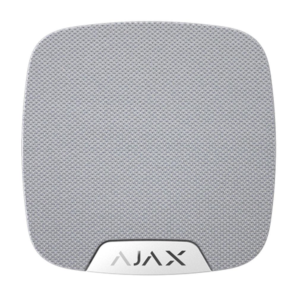 Sirena wireless de interior AJAX HomeSiren WH, 105 dB, RF 2000 m, 5 ani autonomie imagine spy-shop.ro 2021