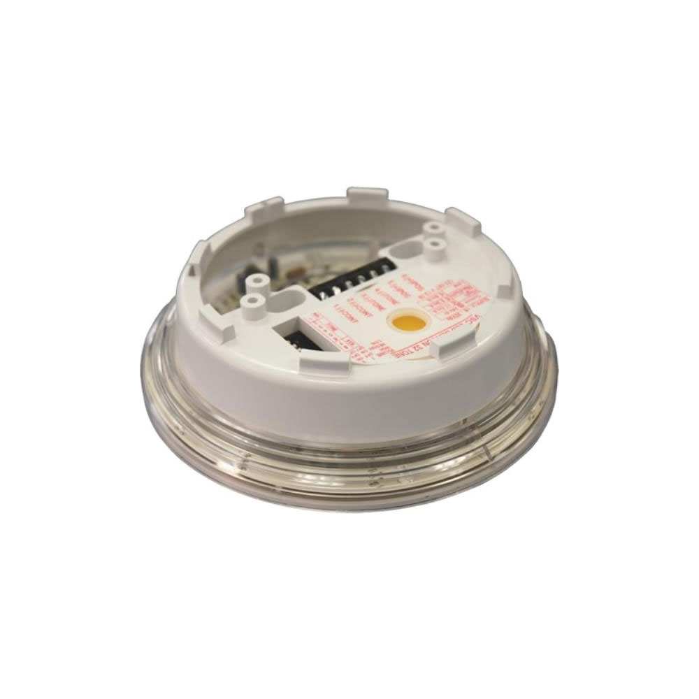 Sirena ivorie conventionala tip soclu cu flash Hochiki CSBB-E, 3 niveluri, IP21C, 93 dB(A) imagine spy-shop.ro 2021