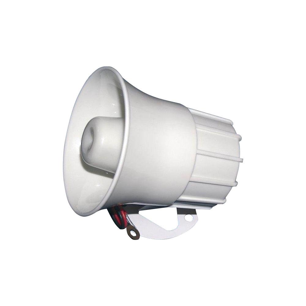 Sirena tip horn de interior Stim S1201, 120 dB, 15 W, ABS plastic imagine spy-shop.ro 2021