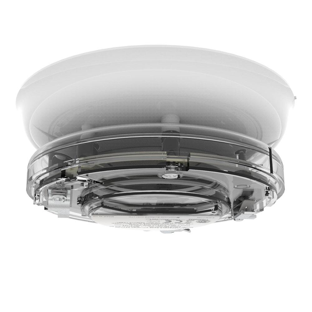 Sirena tip soclu adresabila cu lampa Hochiki YBO-BSB2(WHT)/WL/SIL, SIL2, LED alb, carcasa alba imagine spy-shop.ro 2021