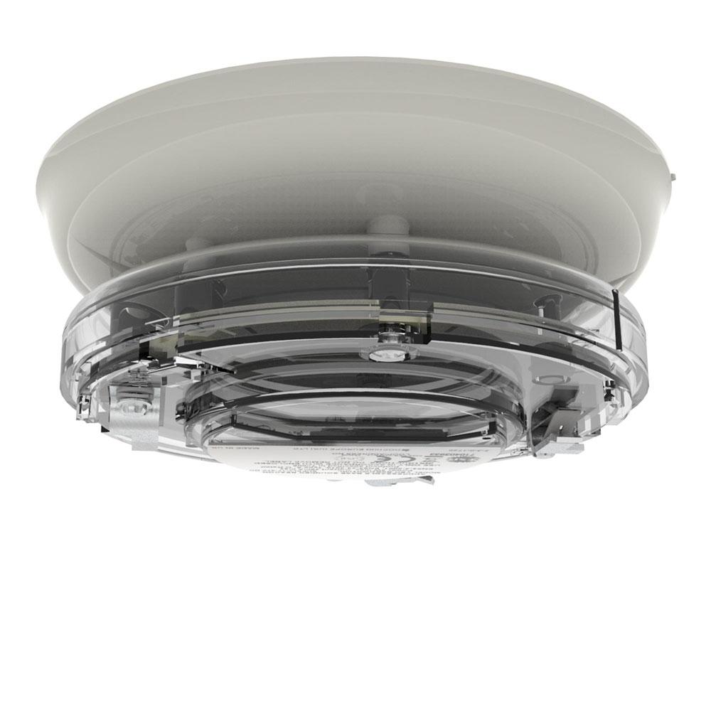 Sirena tip soclu adresabila cu lampa Hochiki YBO-BSB2/WL, 51 tonuri, LED alb, carcasa ivoriu