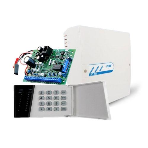 Sistem alarma antiefractie Cerber C52+, 2 partitii, 5 zone, 30 utilizatori imagine spy-shop.ro 2021