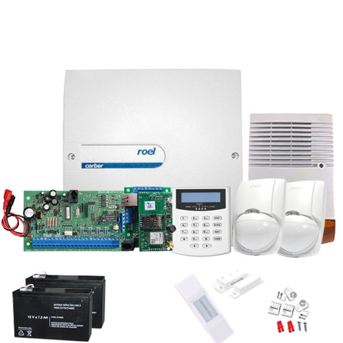 Sistem alarma antiefractie Cerber C816 + Communicator IP/GPRS imagine spy-shop.ro 2021