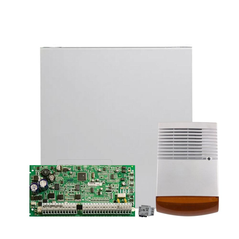 Kit alarma antiefractie DSC KIT 1832 SIR, 4 partitii, 8-32 zone, 72 utilizatori imagine