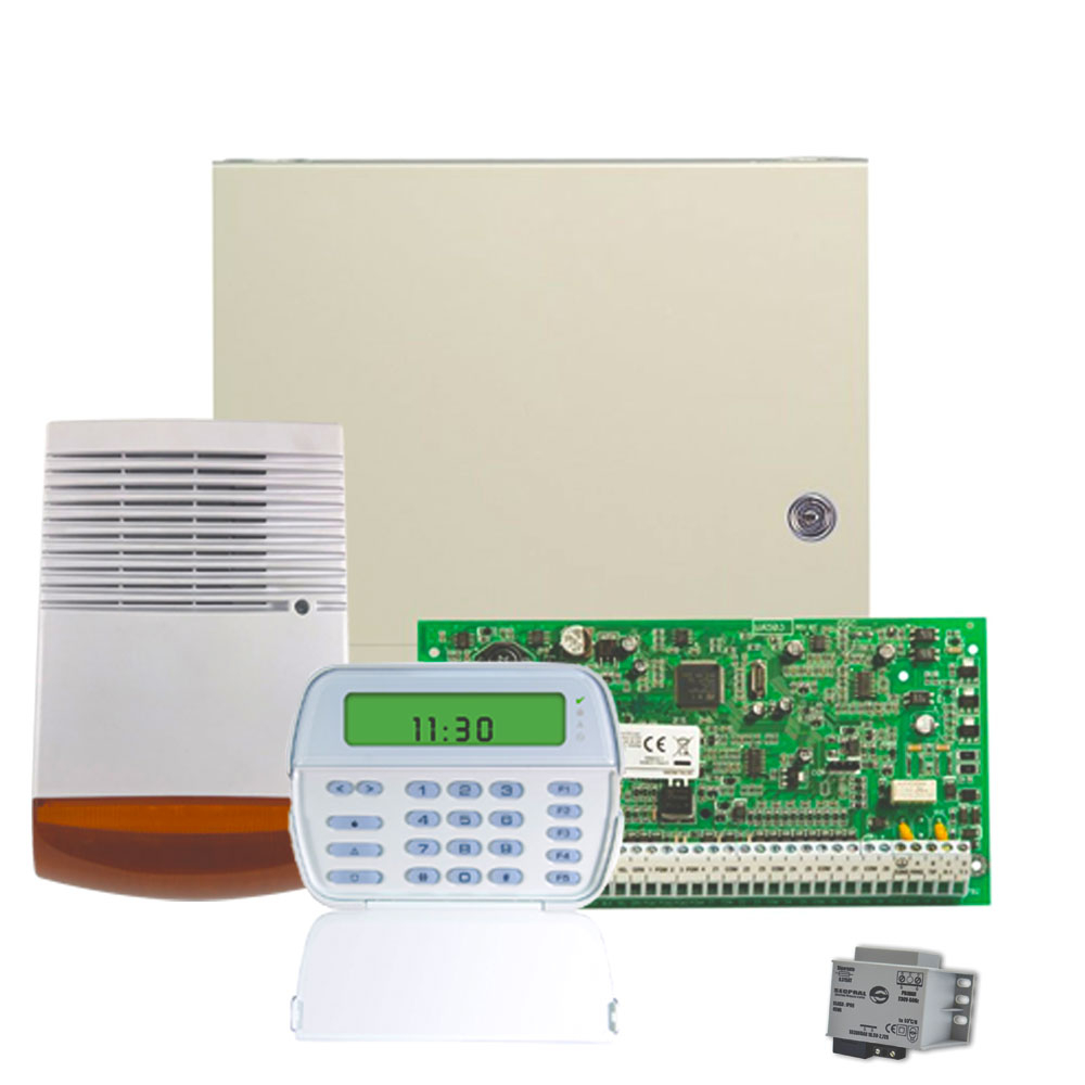 Sistem alarma antiefractie DSC KIT 1864 SIR, 8 partitii, 8-64 zone, 95 utilizatori imagine