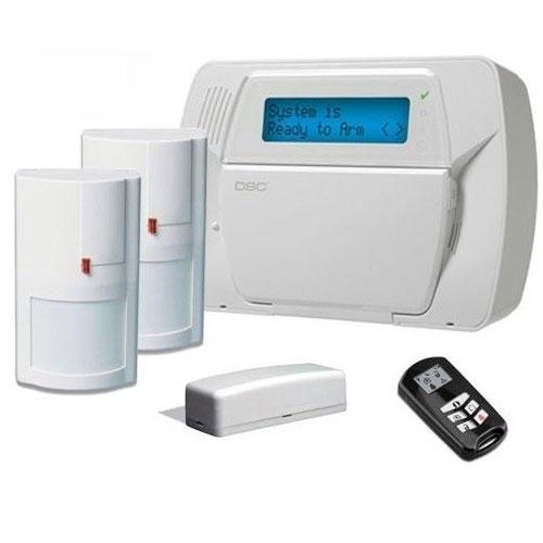 Sistem alarma antiefractie wireless DSC KIT IMPASSA, 64 zone wireless imagine
