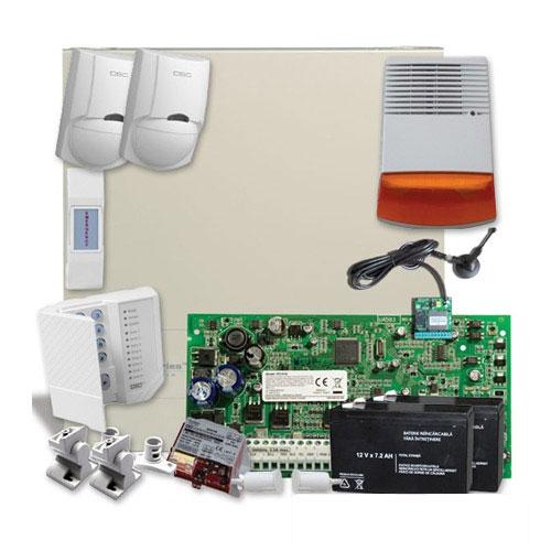 SISTEM ALARMA ANTIEFRACTIE DSC PC1616 EXT SEKA SMS GSM imagine