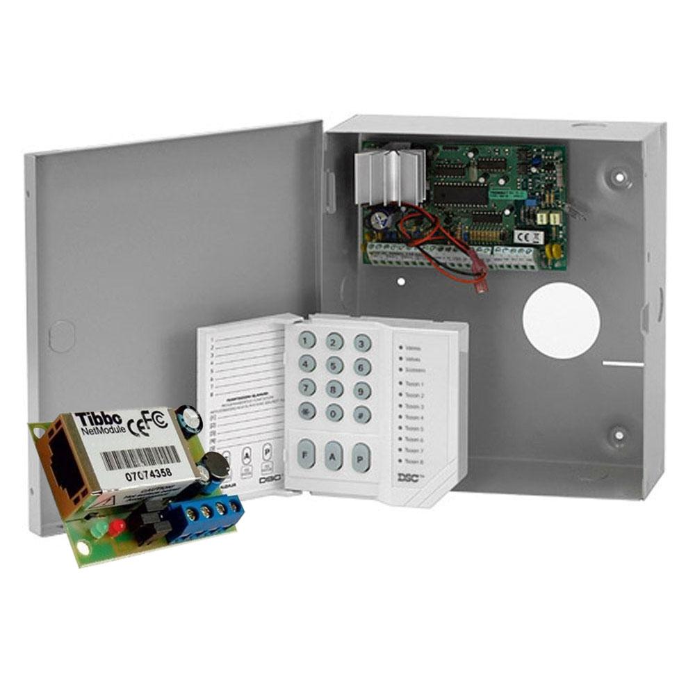 Sistem alarma antiefractie DSC Power PC 585-COMBO, 1 partitie, 6 zone, 48 utilizatori imagine