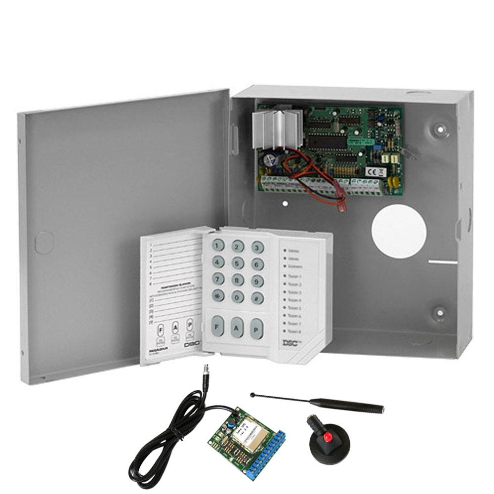 Sistem alarma antiefractie DSC Power PC 585-SMS, 1 partitie, 6 zone, 48 utilizatori imagine