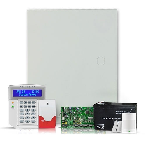 Sistem alarma antiefractie Paradox Spectra SP 5500SIS+K32LCD imagine spy-shop.ro 2021