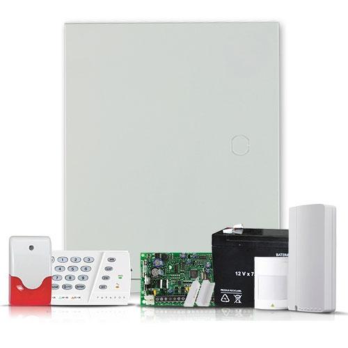 Sistem alarma antiefractie Paradox Spectra KIT SP4000 INT + Comunicator GSM/GPRS, 2 partitii, 4 zone, extensibil 32 zone