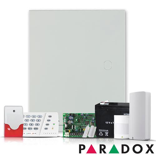 SISTEM ALARMA ANTIEFRACTIE PARADOX SPECTRA SP 4000 INT + COMUNICATOR GSM/GPRS