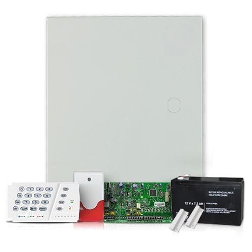 Sistem alarma antiefractie Paradox SP 5500SIS+K636, 5 zone, 2 partitii imagine spy-shop.ro 2021
